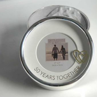 Golden Anniversary Trinket Seed Box Gift