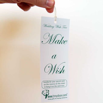 Wedding Wish Tree Tags
