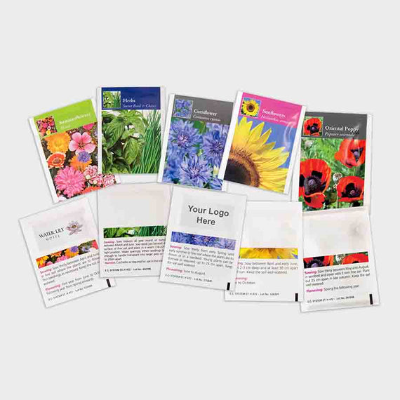 Promotional Seed Packet Selection