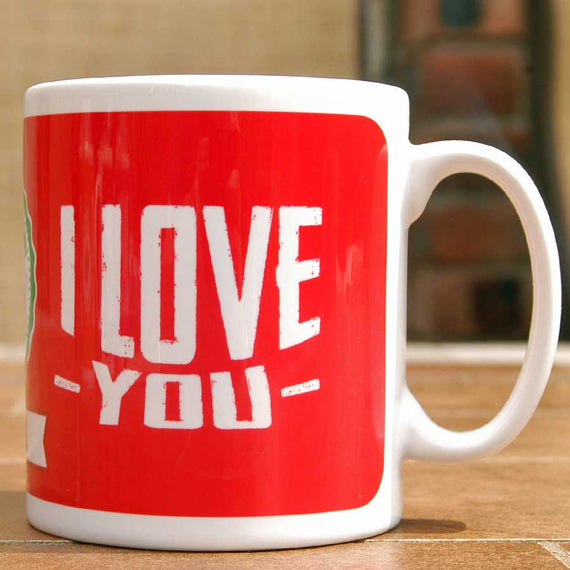 I Love You Mug and Bean Gift Set