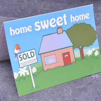 Home Sweet Home - House Warming Card