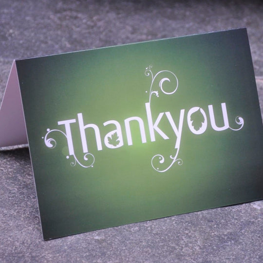 Thank You Greetings Card