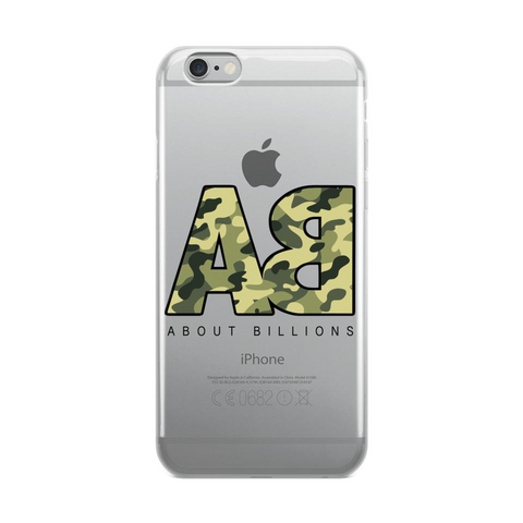 About Billions iPhone Case Camo