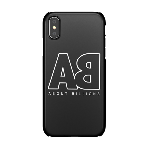 About Billions Iphone Case Black