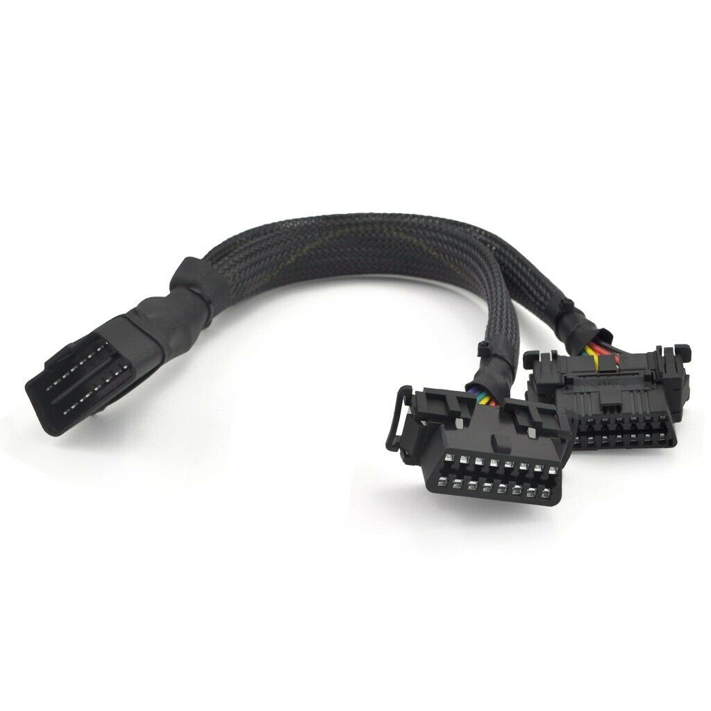 OBDII Concealment Kit - Y Splitter Extension Cable