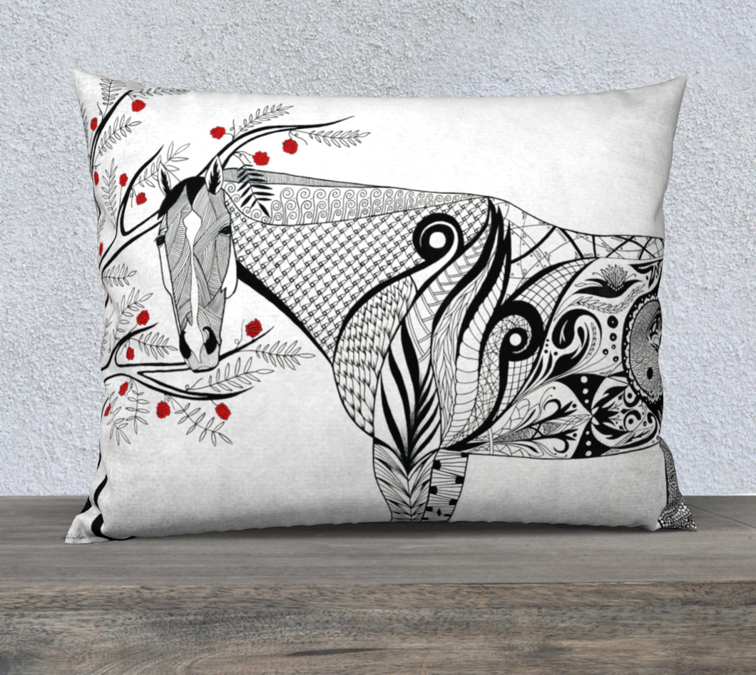 ED Decorative Pillow Case - 26x20