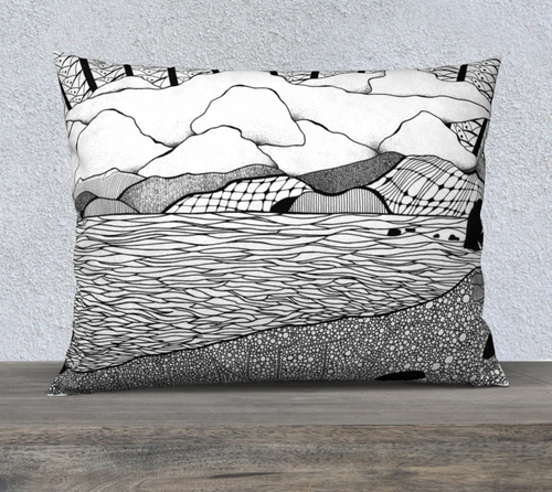 Quadra's Serenity Decorative Pillow Case - 26x20
