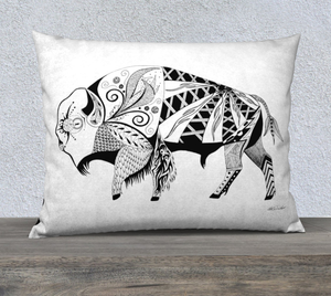 Buffalo In the Wild Decorative Pillow - 26x20""