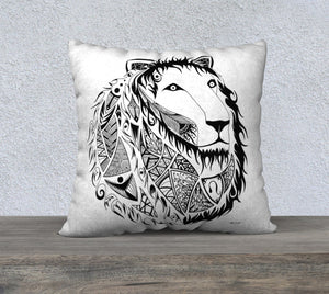 Leo the Lion Decorative Pillow Case - 22""