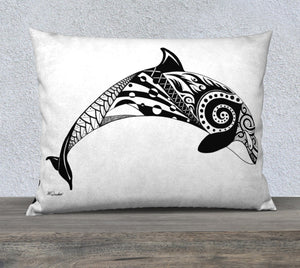 Orca's Spirit Decorative Throw Pillow Case -26x20""
