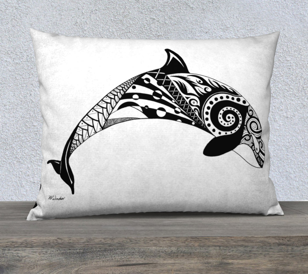 Orca's Spirit Decorative Throw Pillow Case -26x20