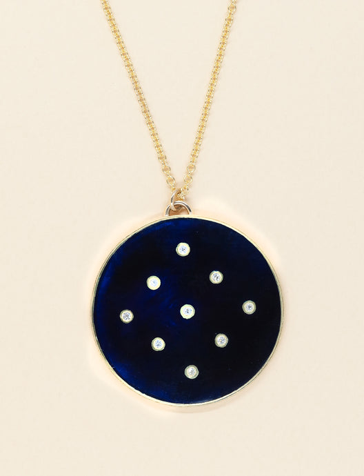 An Enamel Ring and Pendant for Kara