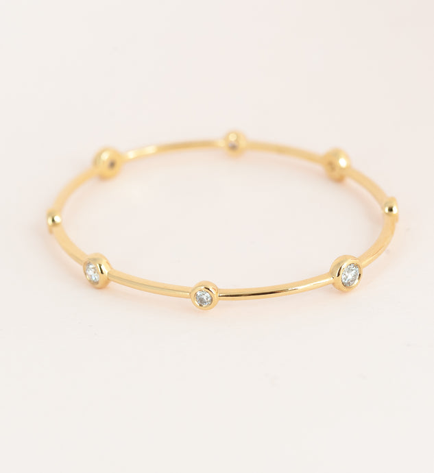 Jenny's diamond bangle