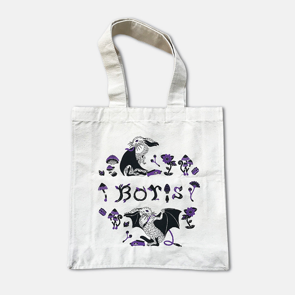 "Boris ""LOVE & EVOL"" Tote Bag"