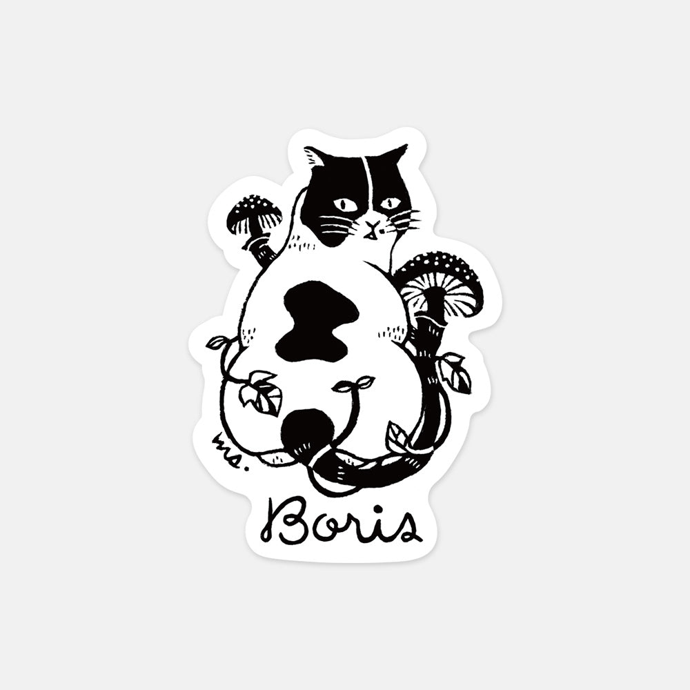 "Boris / ""Sin"" Sticker"