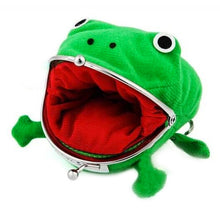 Load image into Gallery viewer, Froggy Coin Purse