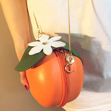 Load image into Gallery viewer, Orange Purse