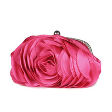 Load image into Gallery viewer, Fancy Floral Clutch