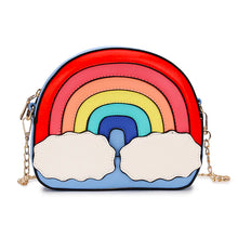 Load image into Gallery viewer, Rainbow Runway Purse