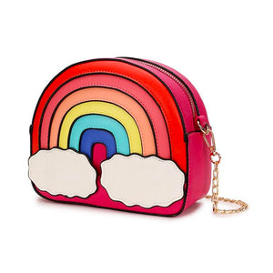 Rainbow Runway Purse