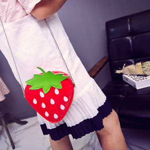Strawberry Sunday Purse