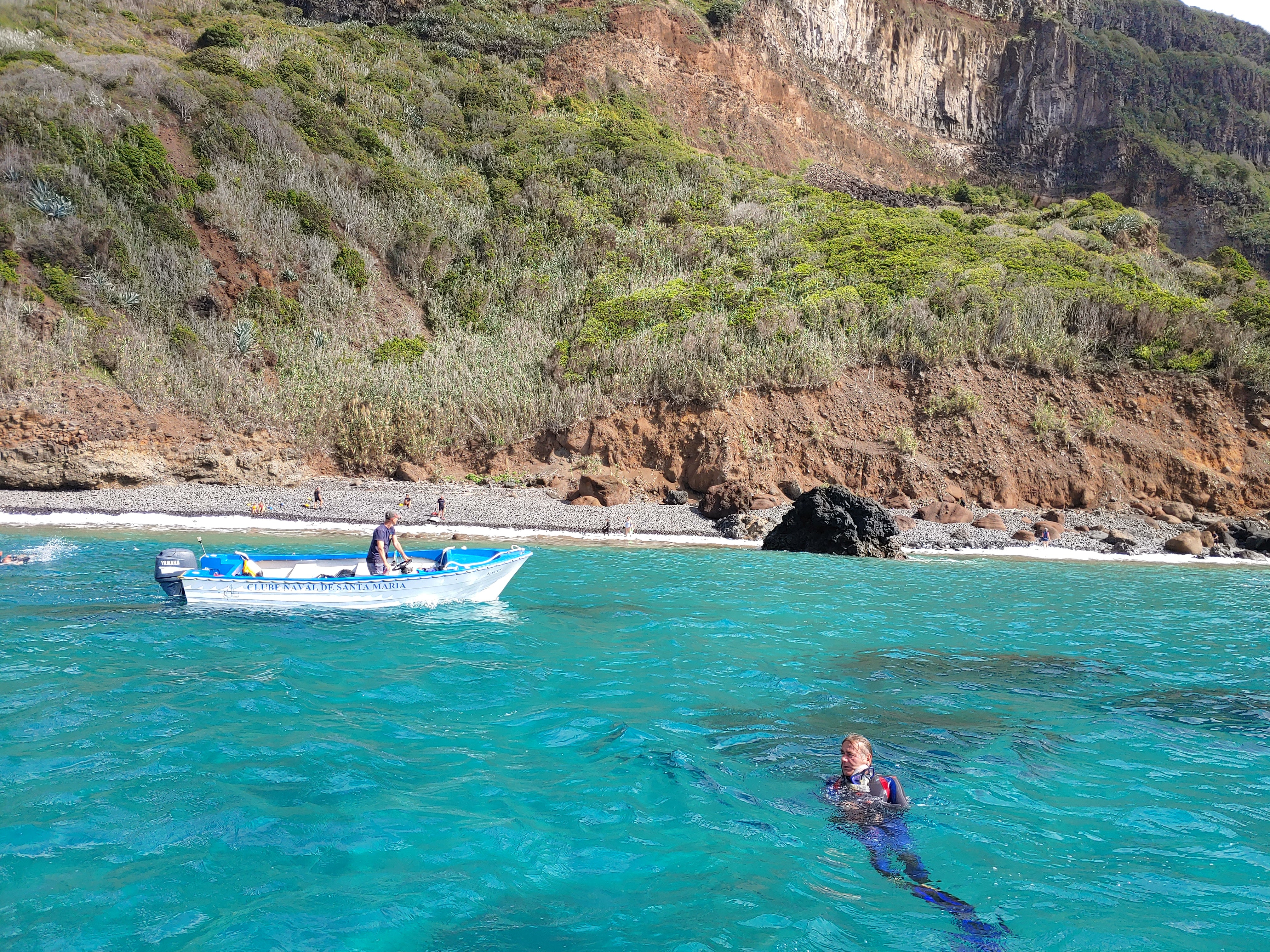 Neon Joyride Snorkeling Cleanup with Wahoo Diving Azores and Clube Naval Santa Maria