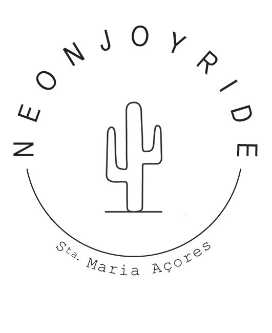 WE ARE NEON JOYRIDE. WE CREATE LIMITED EDITION FINE JEWELRY INSPIRED BY THE OCEAN ON THE ISLAND OF SANTA MARIA IN THE AZORES. OUR JEWELRY IS MADE BY HAND USING SUSTAINABLE MATERIALS & RECLAIMED OCEAN PLASTICS.