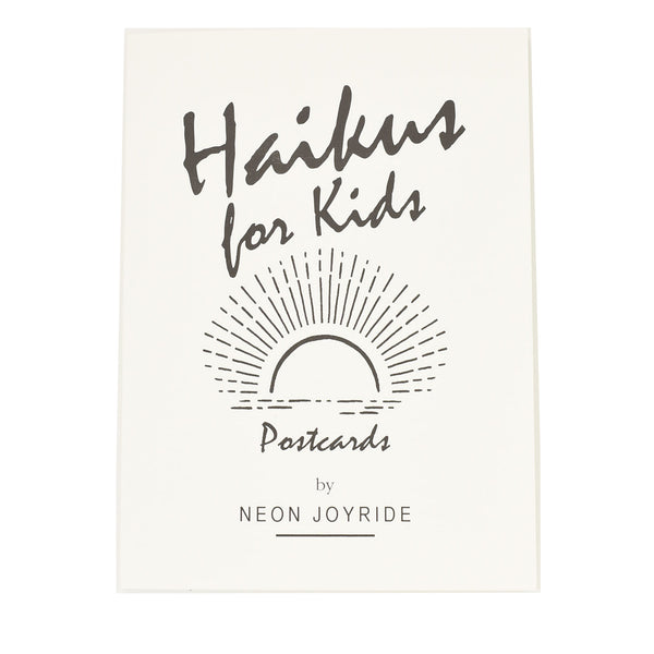 Haikus for Kids Postcard Book