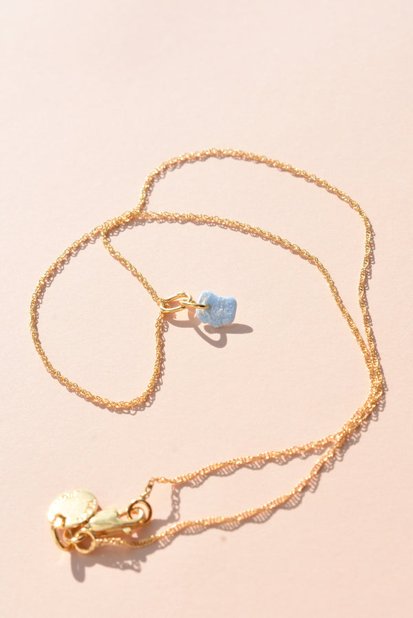Powder Blue Tini Necklace