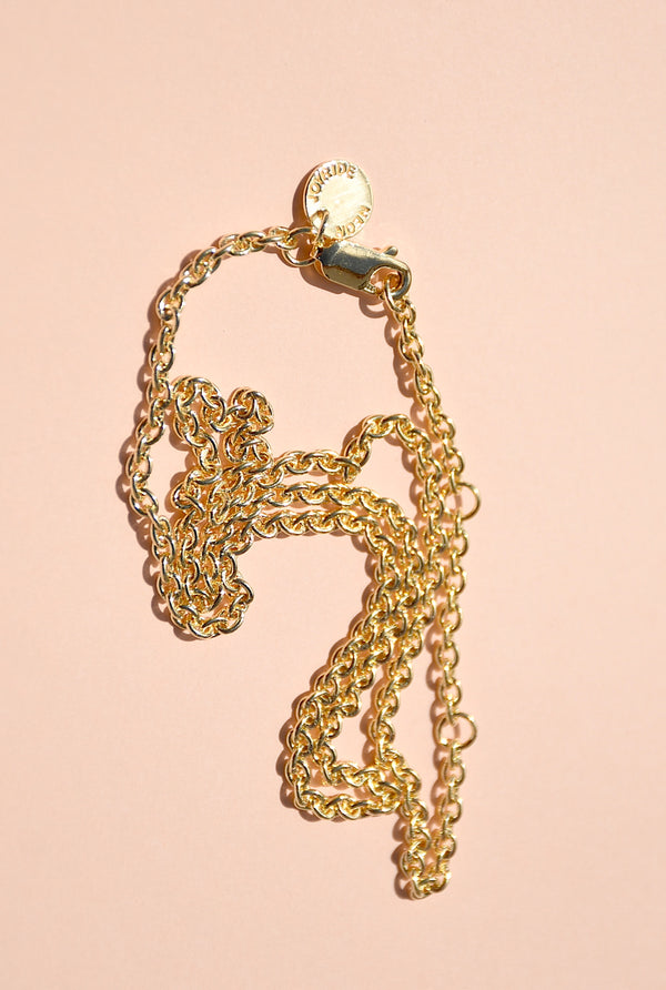 PRAIA CABLE CHAIN NECKLACE