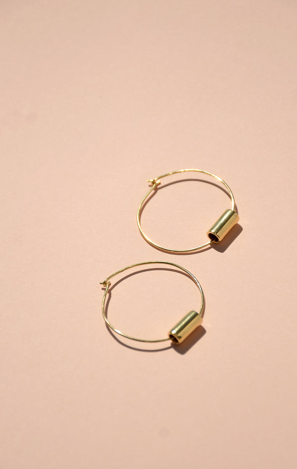 Medium Maia Hoop Earrings