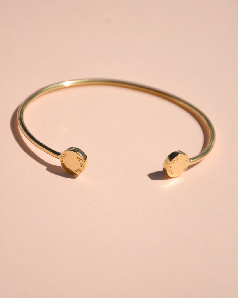 GOLD JOY BANGLE