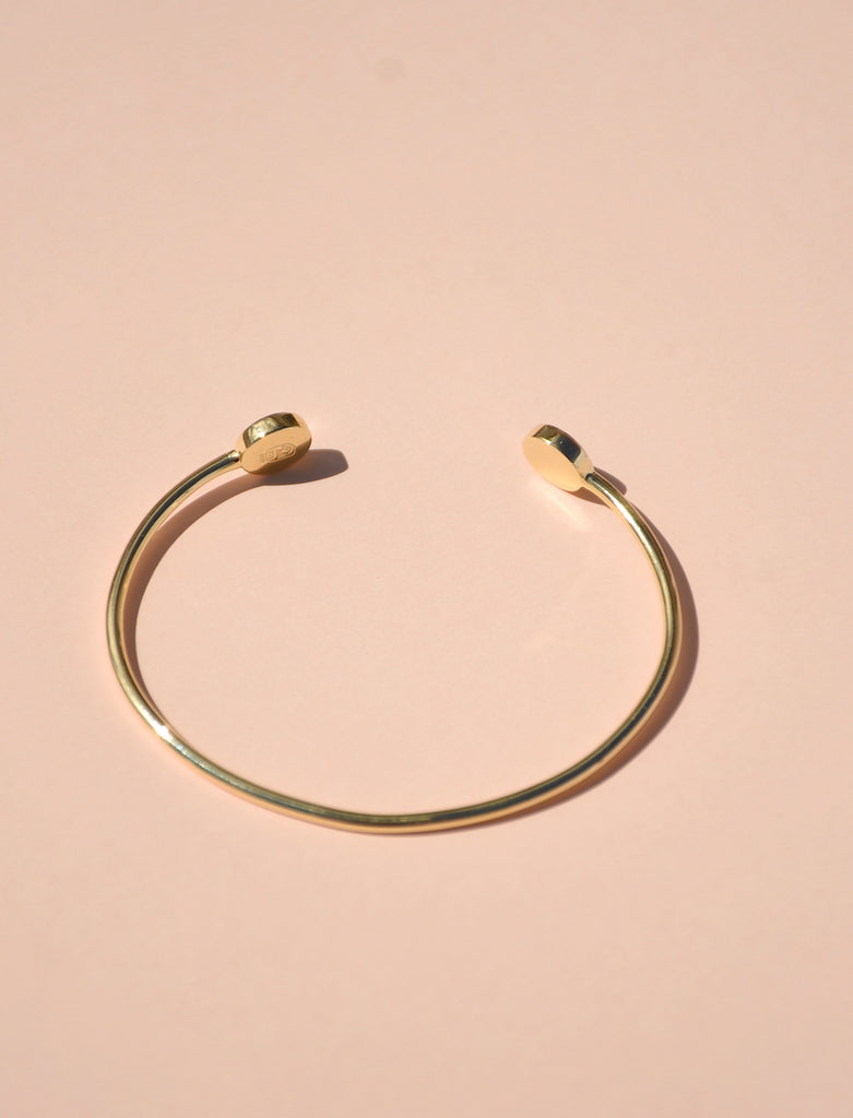 GOLD VERMEIL JOY BANGLE