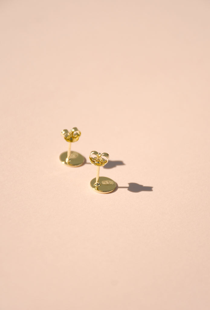 GOLD JOYRIDE STUD EARRINGS
