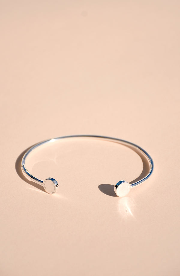 STERLING SILVER JOY BANGLE