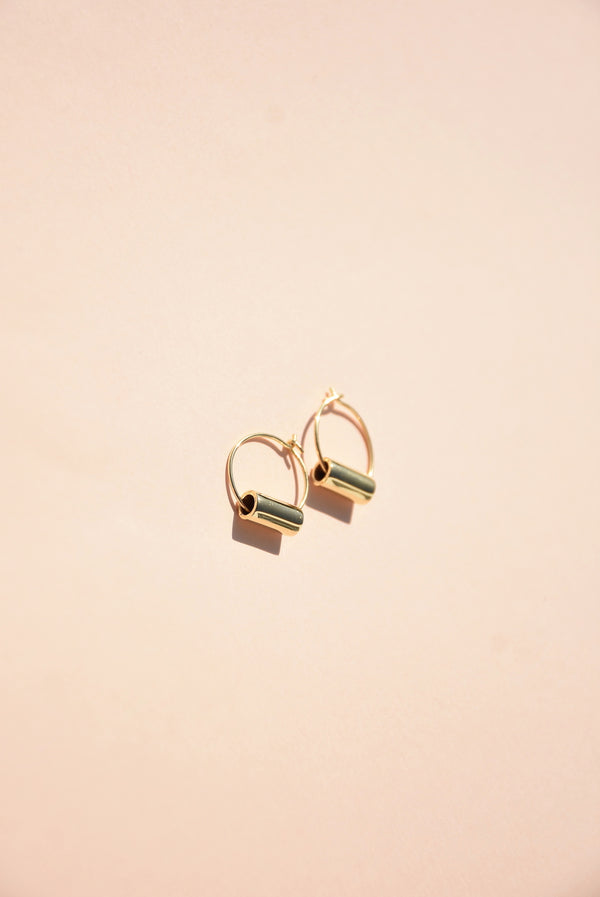 Small Maia Hoop Earrings