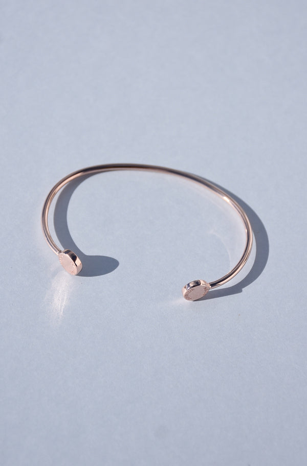 ROSE GOLD VERMEIL JOY BANGLE