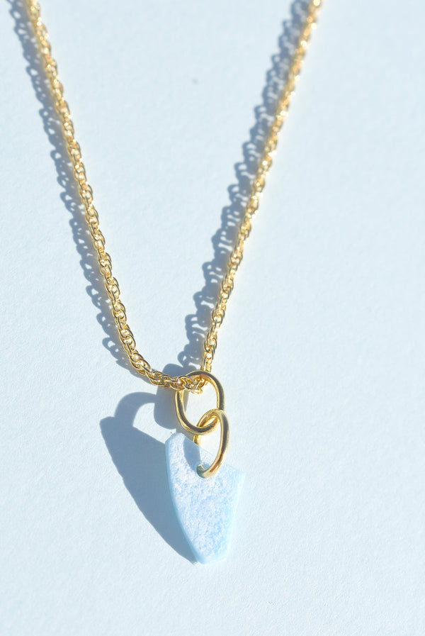 18K Gold Sky Loop Necklace