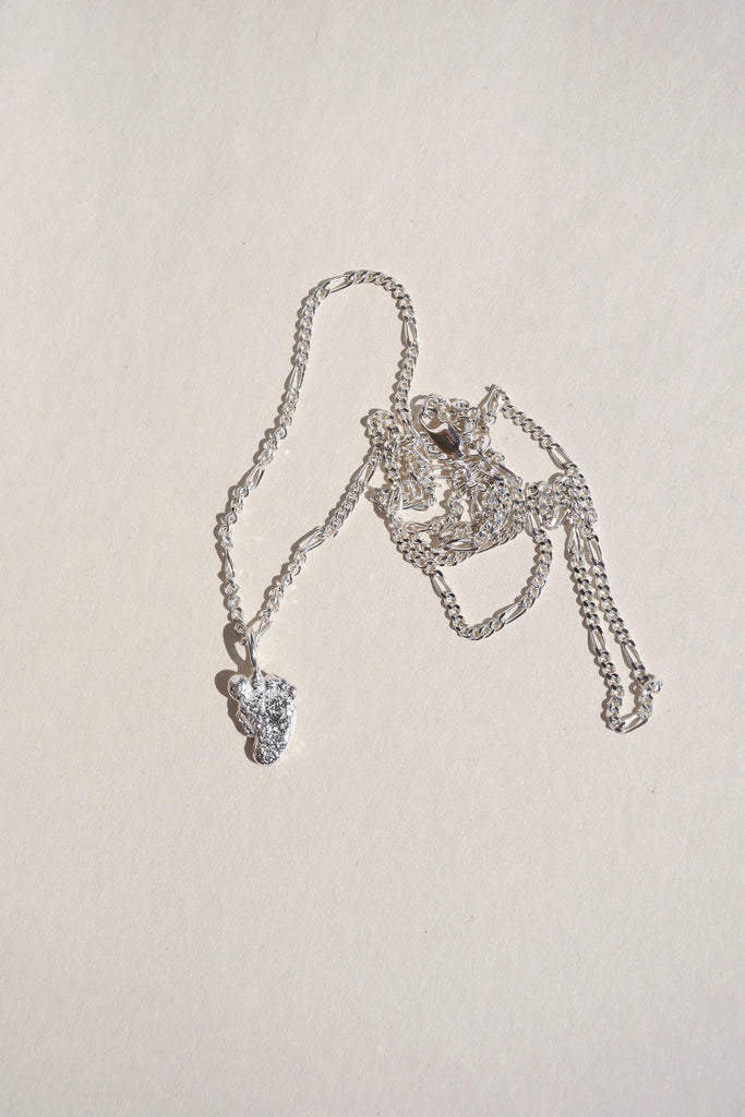SILVER ARIEL NECKLACE