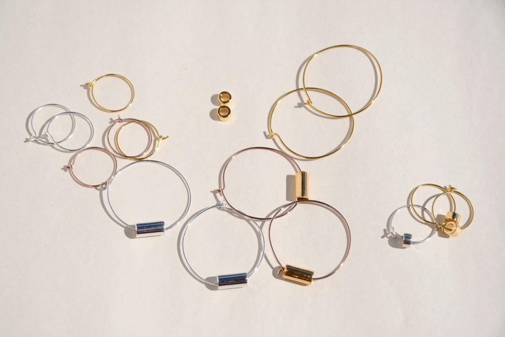 SILVER MAIA HOOP EARRINGS