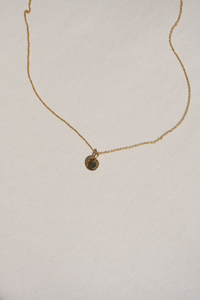 GOLD MINI JOYRIDE NECKLACE