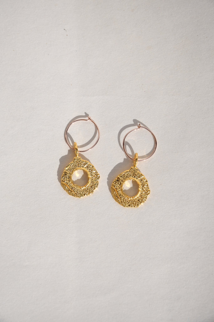 ENSO HOOP EARRINGS