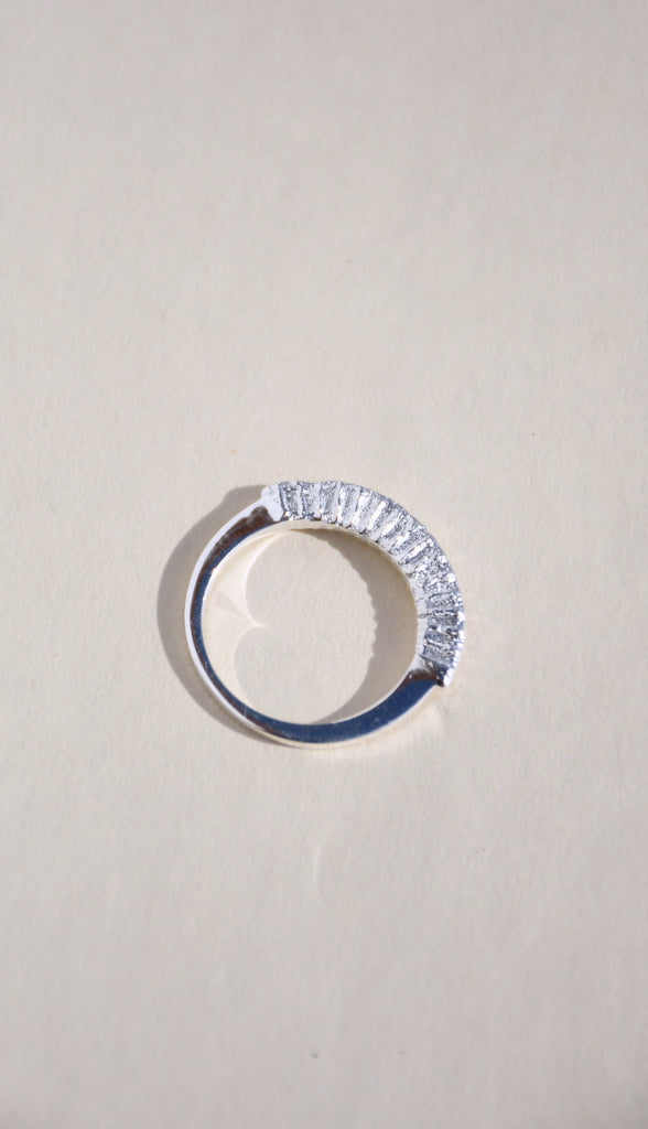 SILVER ARCH RING