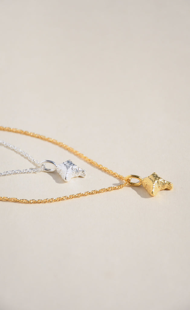 GOLD LODESTAR NECKLACE