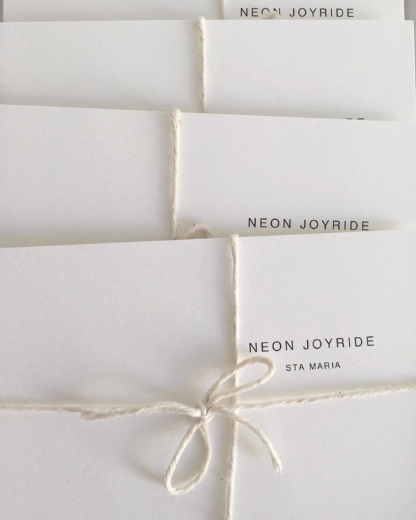 RECYCLED COTTON GIFT CARD