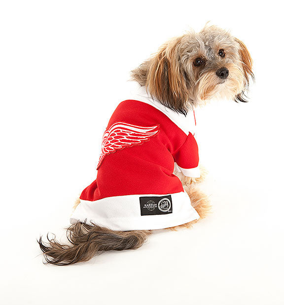 Detroit Red Wings NHL Dog Jersey