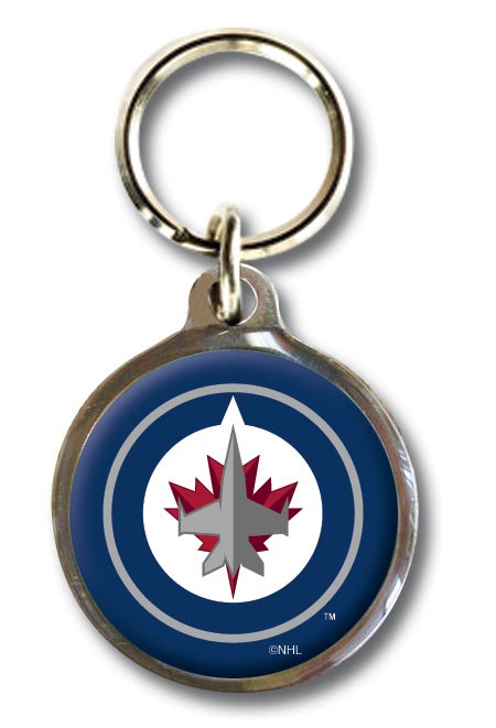 Winnipeg Jets NHL Dog ID Tag