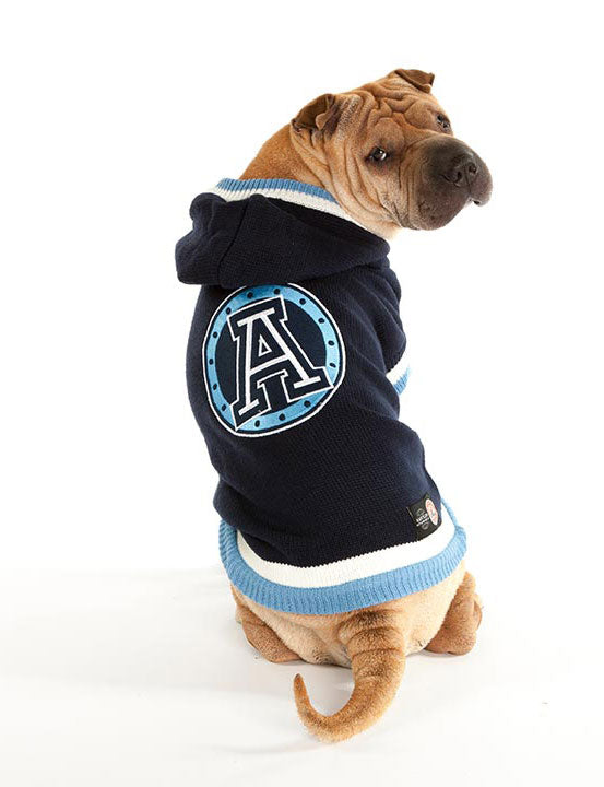 Toronto Argonauts CFL Hooded Dog Sweater