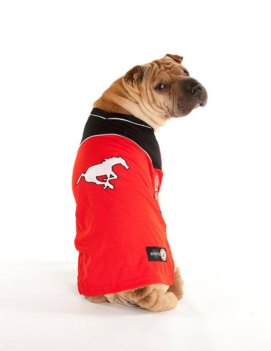 Calgary Stampeders CFL Dog Jersey