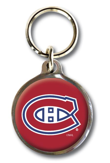 Montreal Canadiens NHL Dog ID Tag